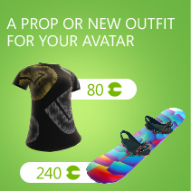 A prop or new outfit for your avatar 80 | 240