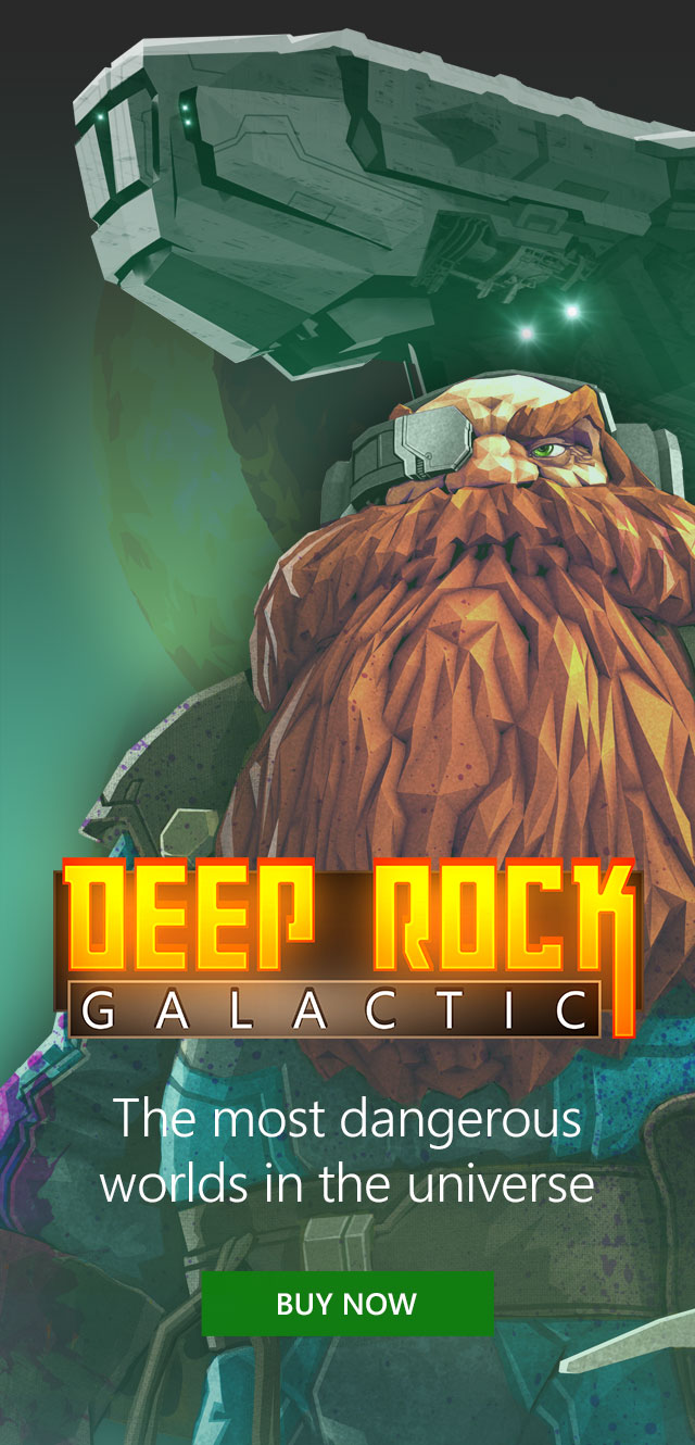 Deep Rock Galactic | The most dangerous worlds in the universe | Buy now